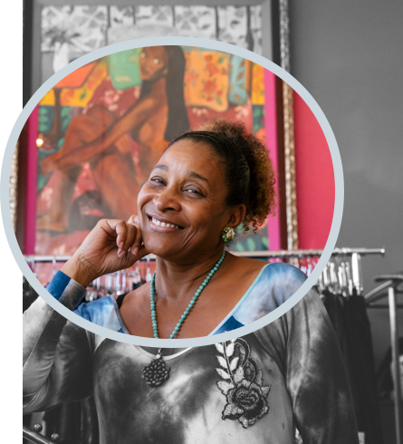 Marcia (Pinky) Charles, Pinky Rose Boutique, FOUND/LA Entrepreneur