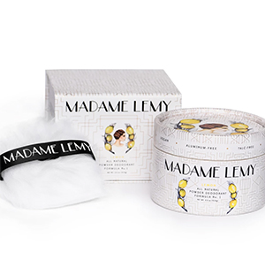 All-Natural Lemon Powder Deodorant by Madame Lemy