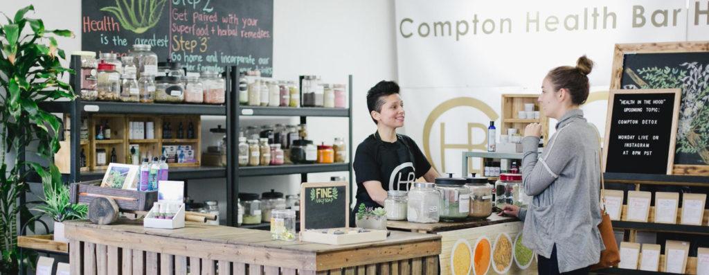Compton Health Bar